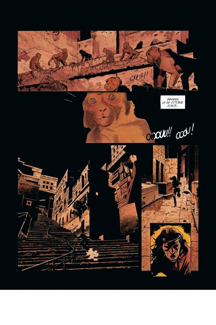 Le Vampire de Benares - T.1 Les Bêtes de la nuit