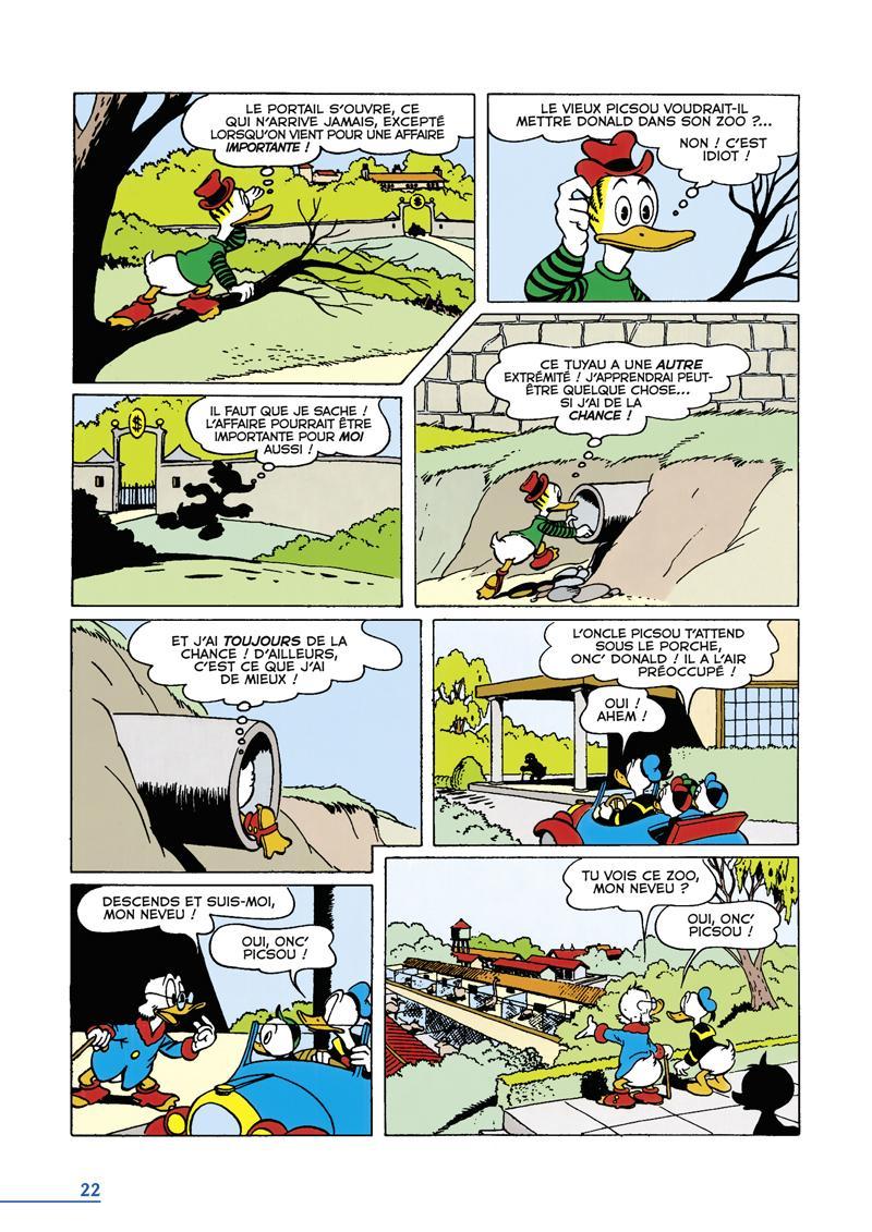 Extrait n°2 du comics tome 1 par Carl Barks