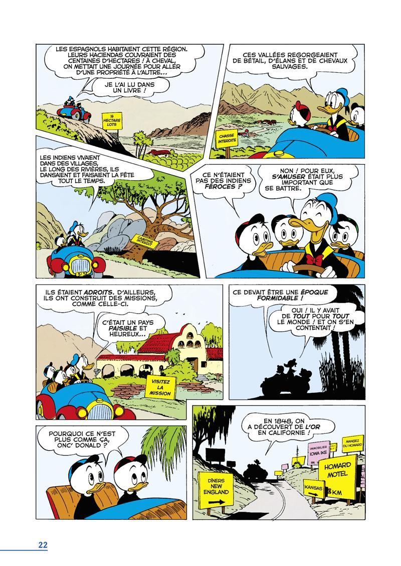 Extrait n°2 du comics tome 2 par Carl Barks
