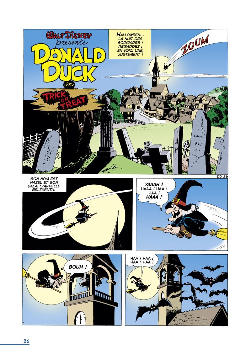 Extrait n°1 du comics tome 3 par Carl Barks