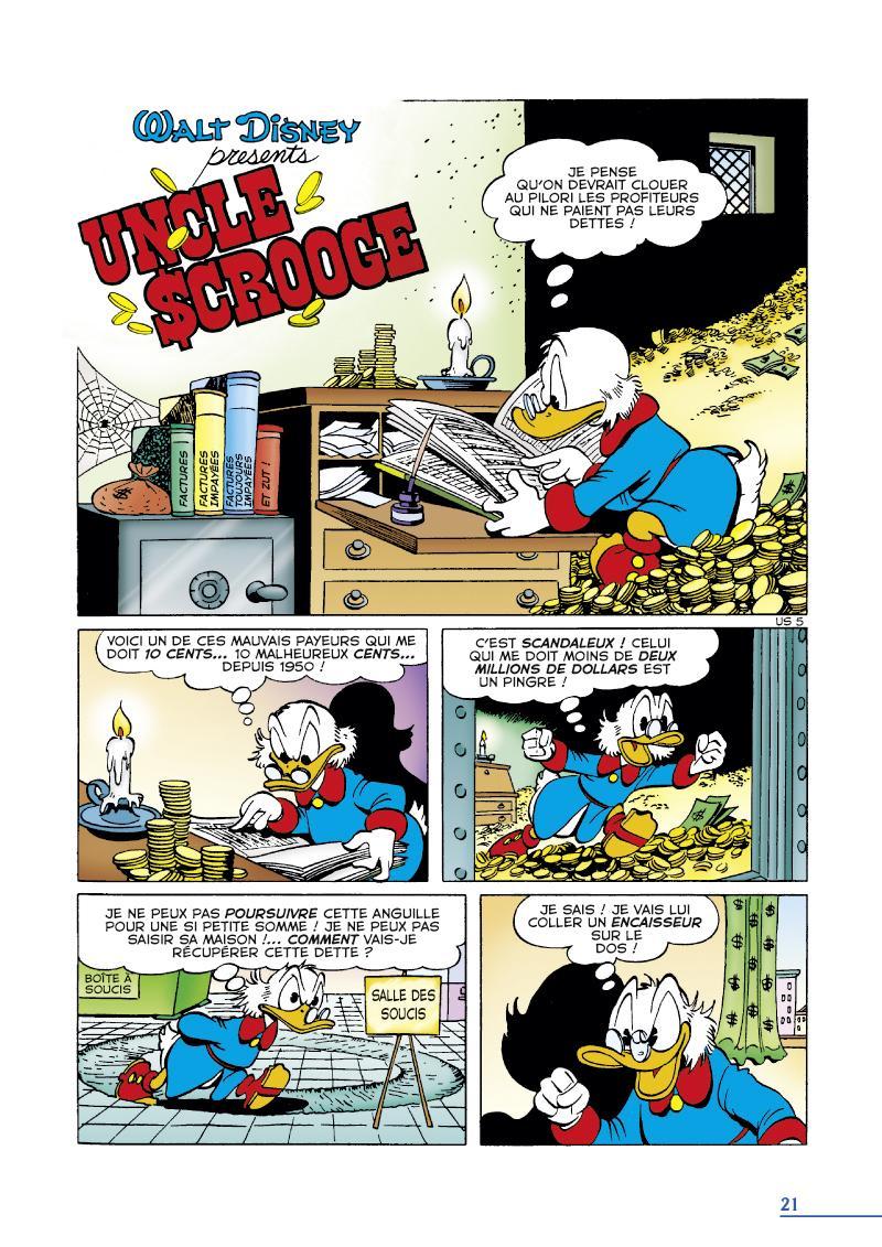 Extrait n°1 du comics tome 4 par Carl Barks