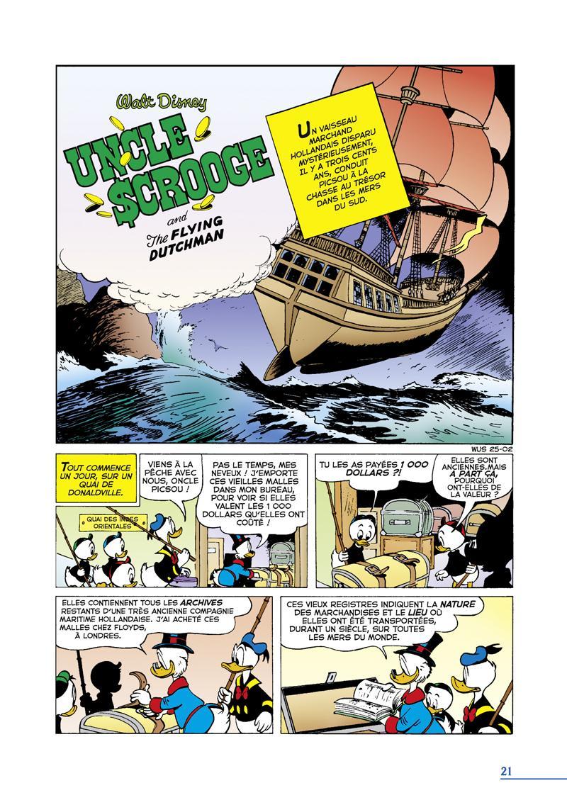 Extrait n°1 du comics tome 9 par Carl Barks