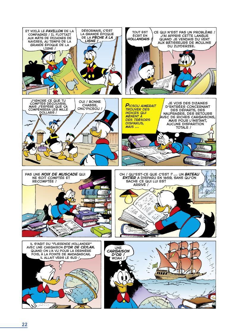 Extrait n°2 du comics tome 9 par Carl Barks