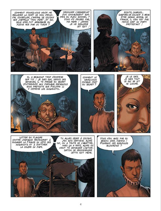 Extrait n°2 de la bd Charly 9 par Richard Guérineau