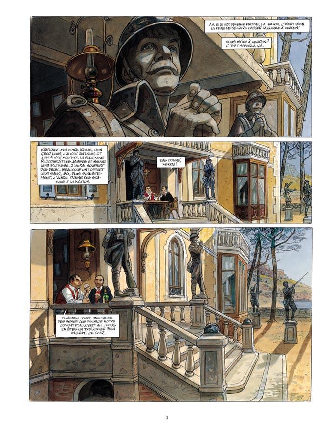 Extrait n°1 de la bd tome 3 par Jean-Pierre Gibrat