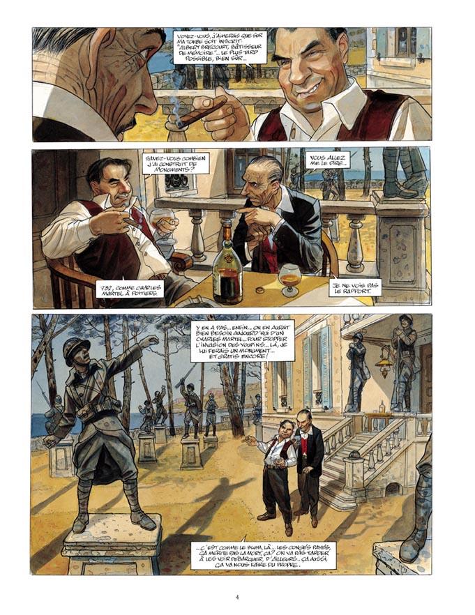 Extrait n°2 de la bd tome 3 par Jean-Pierre Gibrat