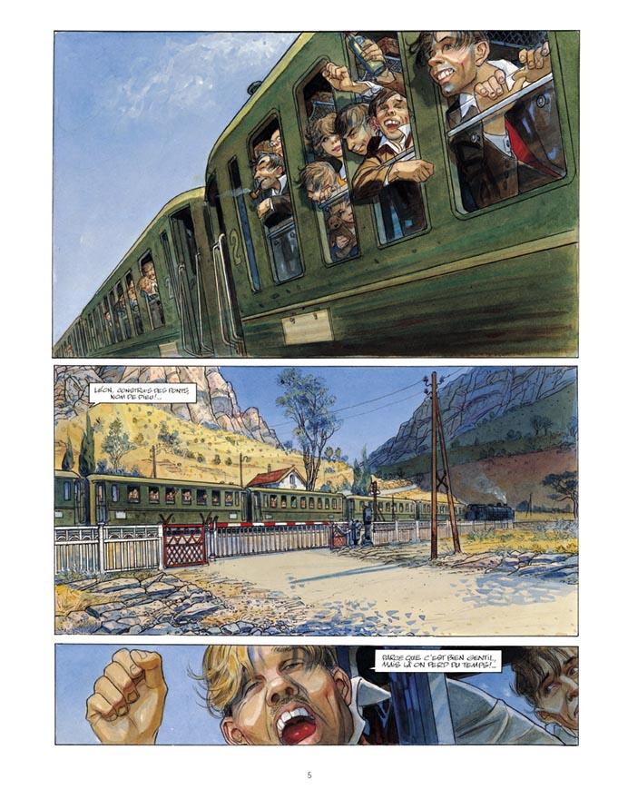 Extrait n°3 de la bd tome 3 par Jean-Pierre Gibrat