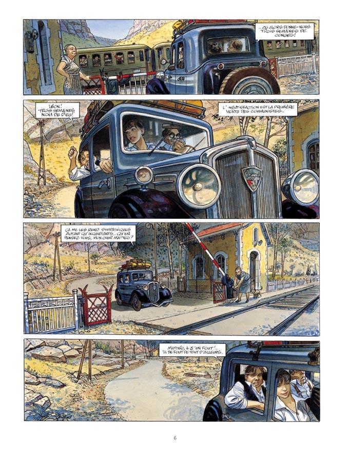 Extrait n°4 de la bd tome 3 par Jean-Pierre Gibrat