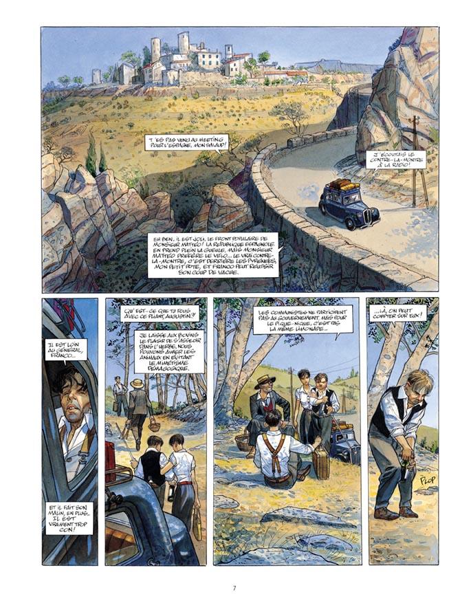 Extrait n°5 de la bd tome 3 par Jean-Pierre Gibrat