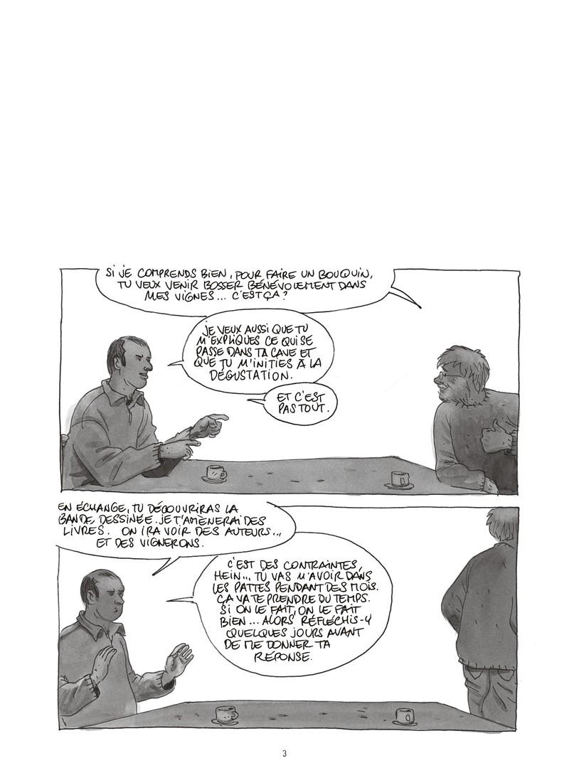 Extrait n°1 de la bd Les ignorants, récit d'une initiation croisée par Étienne Davodeau