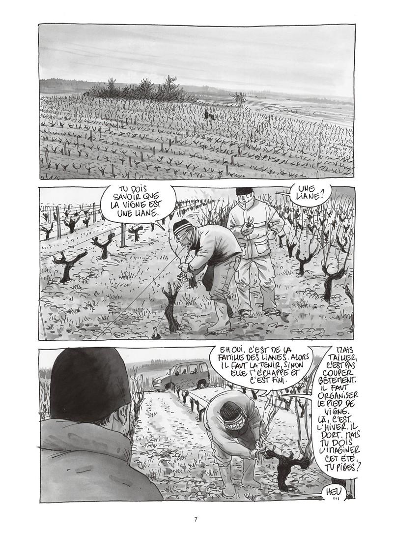 Extrait n°3 de la bd Les ignorants, récit d'une initiation croisée par Étienne Davodeau