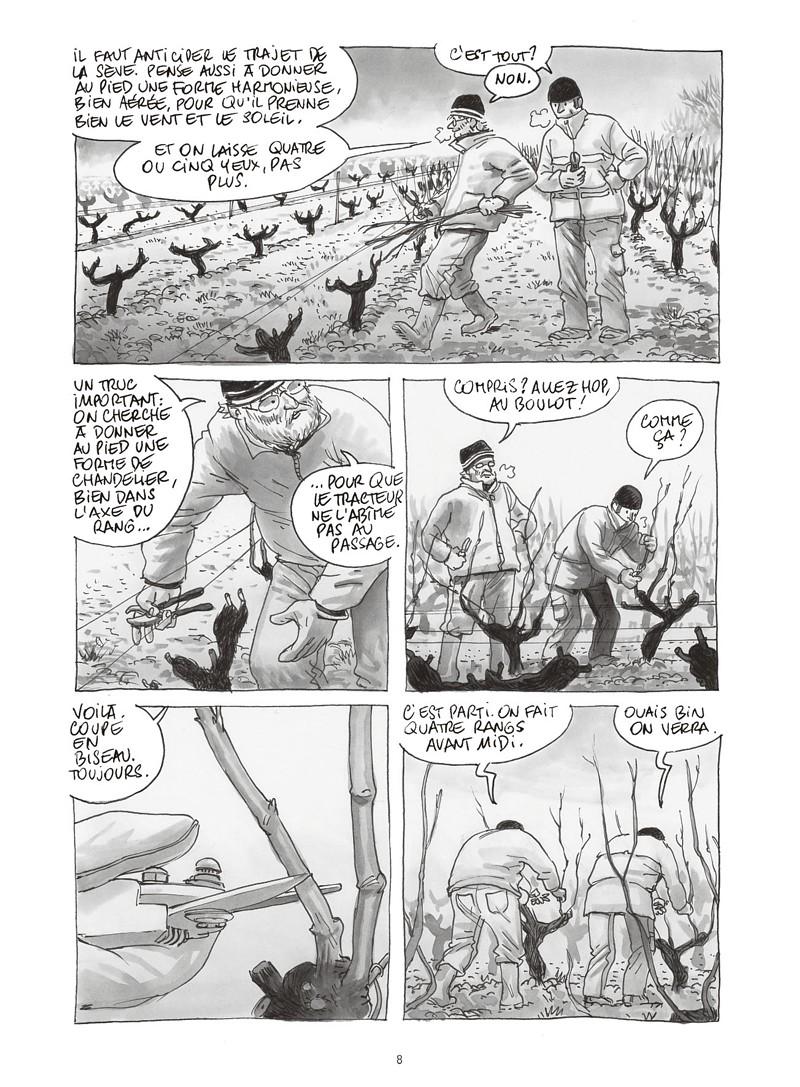 Extrait n°4 de la bd Les ignorants, récit d'une initiation croisée par Étienne Davodeau