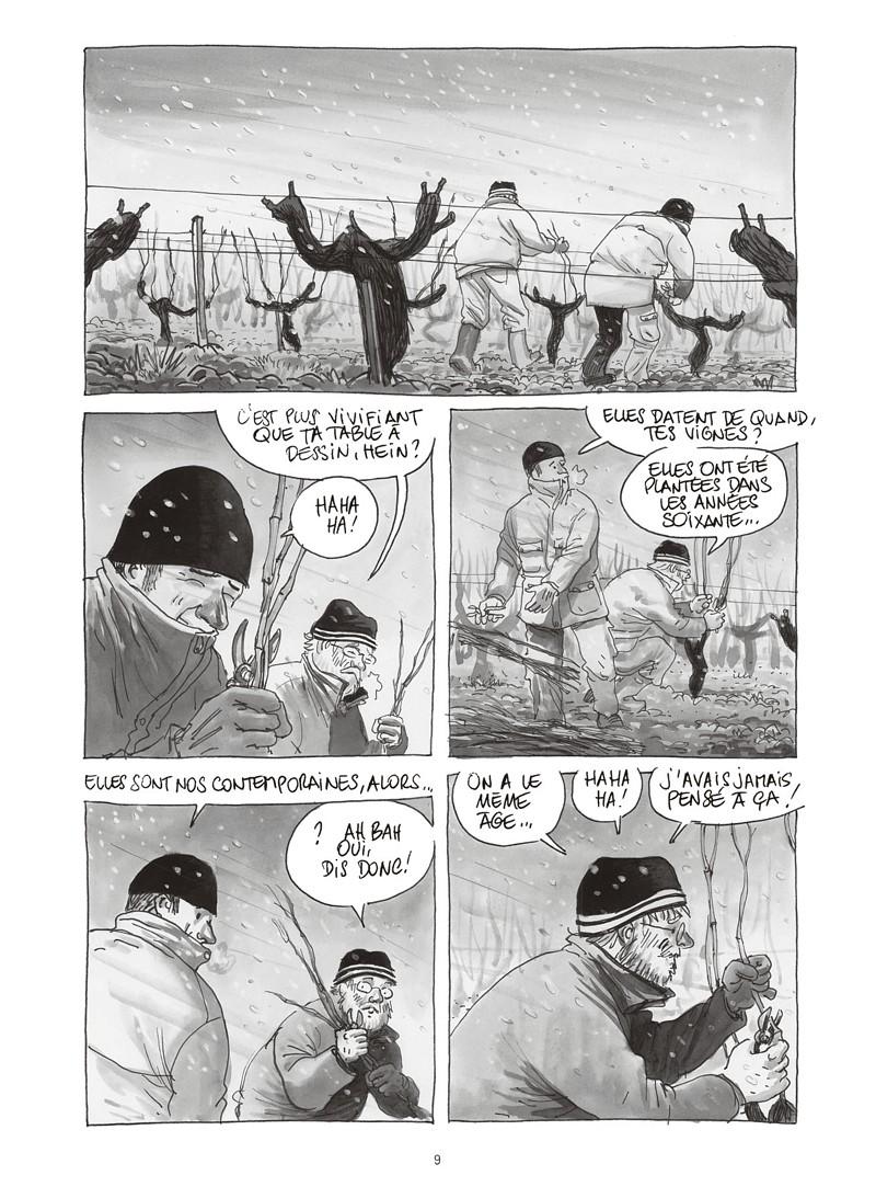Extrait n°5 de la bd Les ignorants, récit d'une initiation croisée par Étienne Davodeau