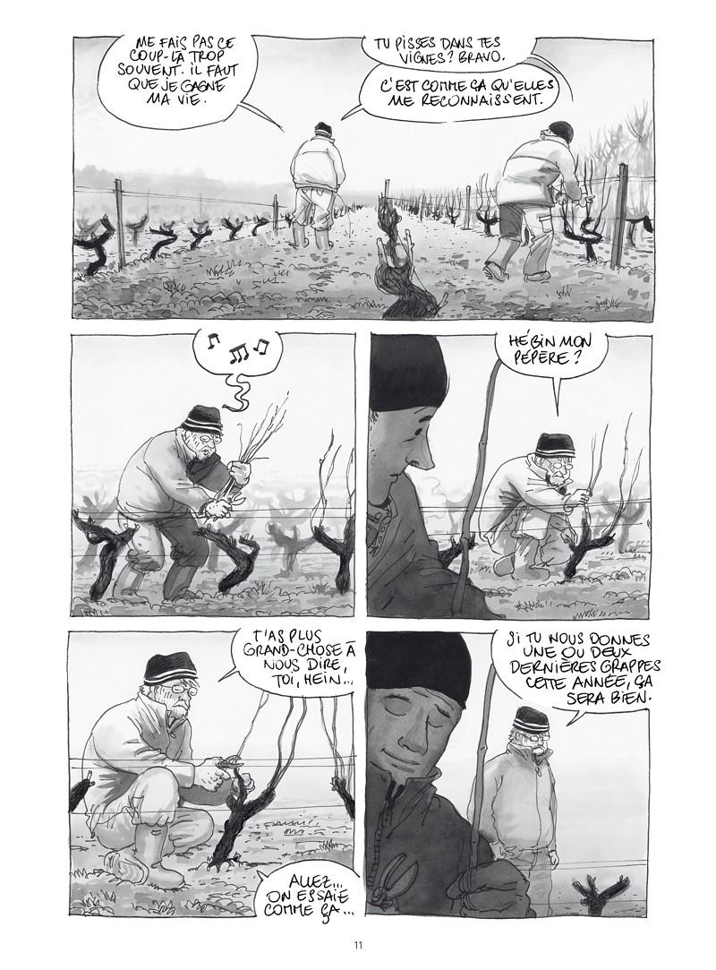 Extrait n°8 de la bd Les ignorants, récit d'une initiation croisée par Étienne Davodeau