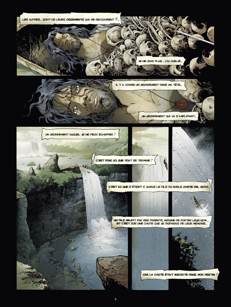 Extrait n°2 de la bd tome 1 par Jean Dufaux