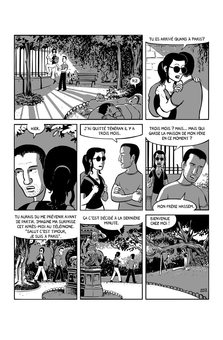 Extrait n°2 de la bd Ainsi se tut Zarathoustra par Nicolas Wild
