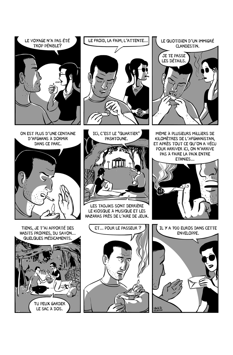 Extrait n°3 de la bd Ainsi se tut Zarathoustra par Nicolas Wild