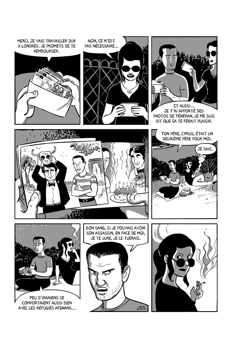 Extrait n°4 de la bd Ainsi se tut Zarathoustra par Nicolas Wild