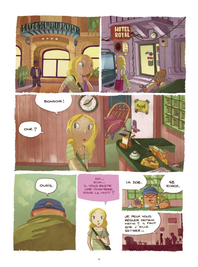 Extrait n°2 de la bd tome 2 par Mathilde Domecq