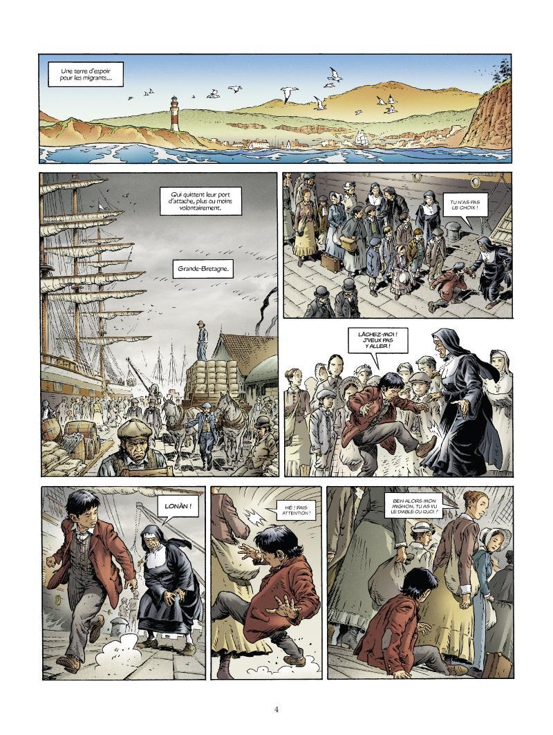 Extrait n°2 de la bd tome 1 par Nathalie Sergeef