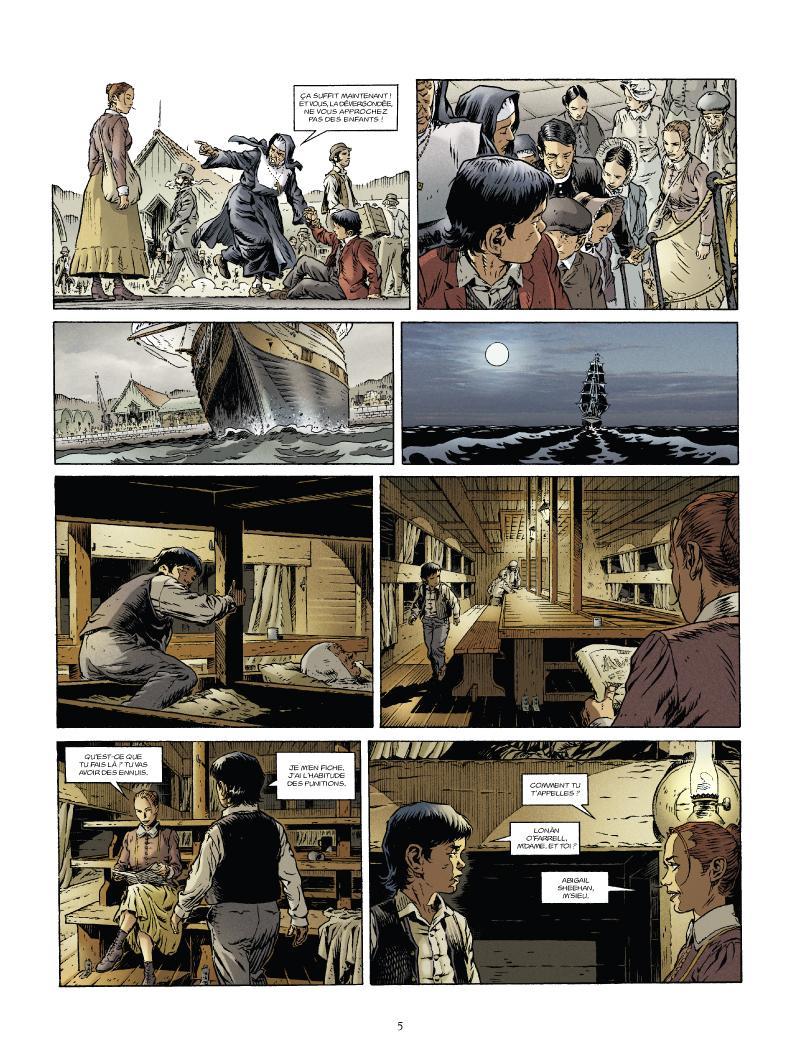 Extrait n°3 de la bd tome 1 par Nathalie Sergeef