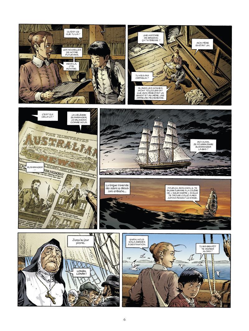 Extrait n°4 de la bd tome 1 par Nathalie Sergeef
