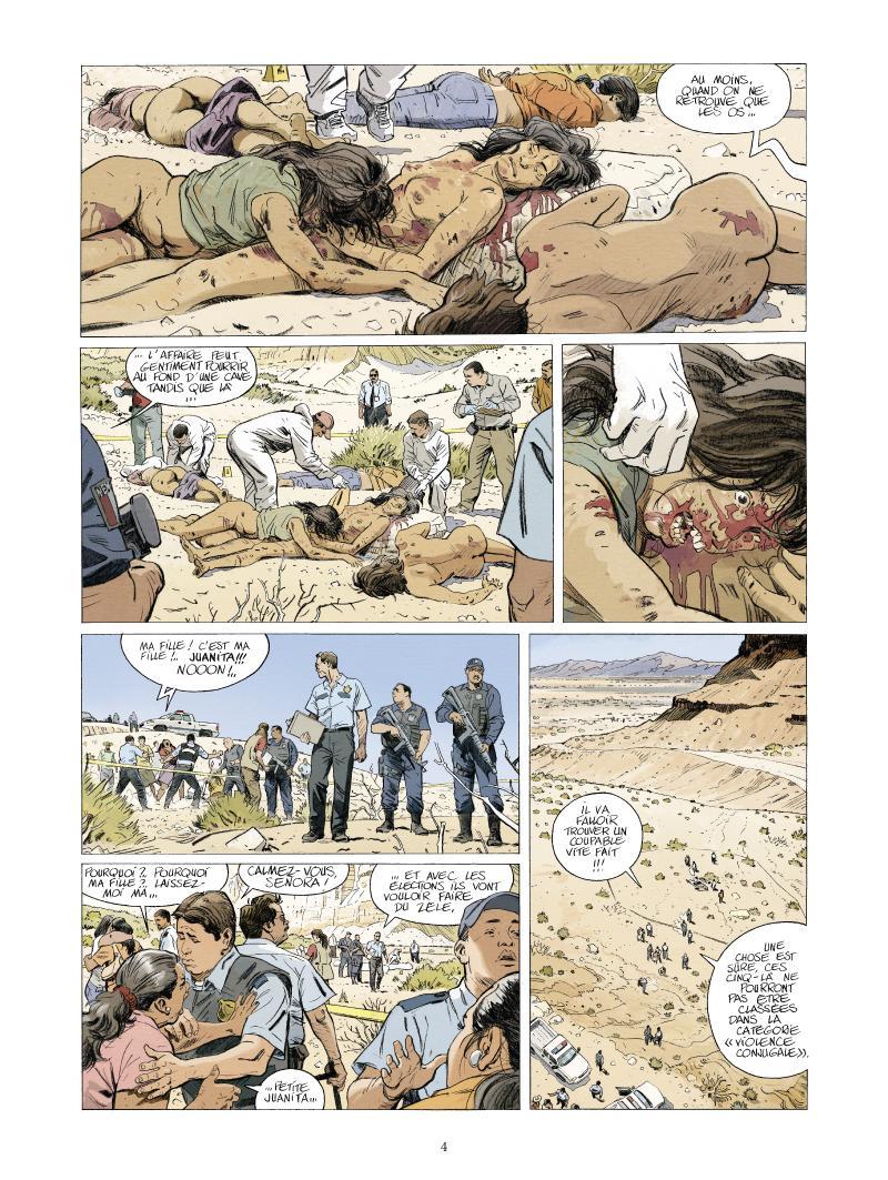 Extrait n°2 de la bd Juarez par Nathalie Sergeef