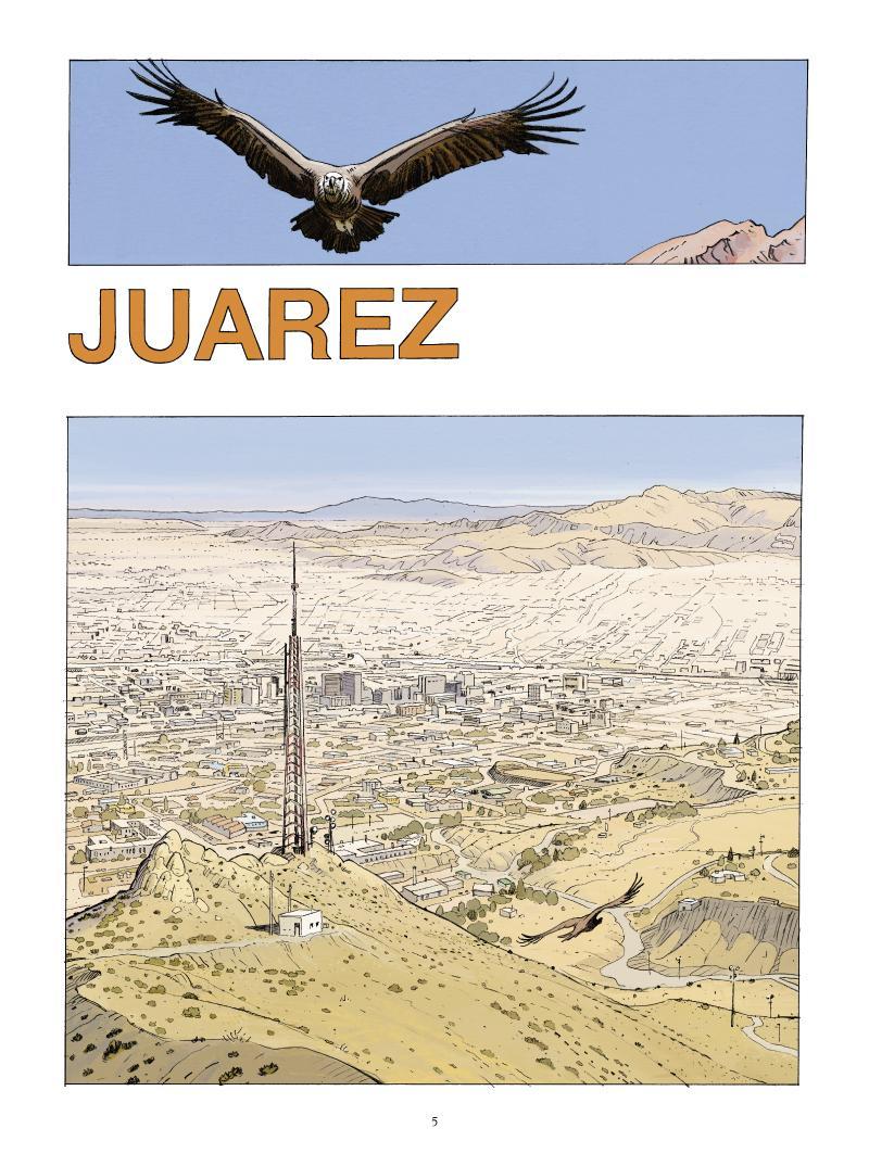 Extrait n°3 de la bd Juarez par Nathalie Sergeef