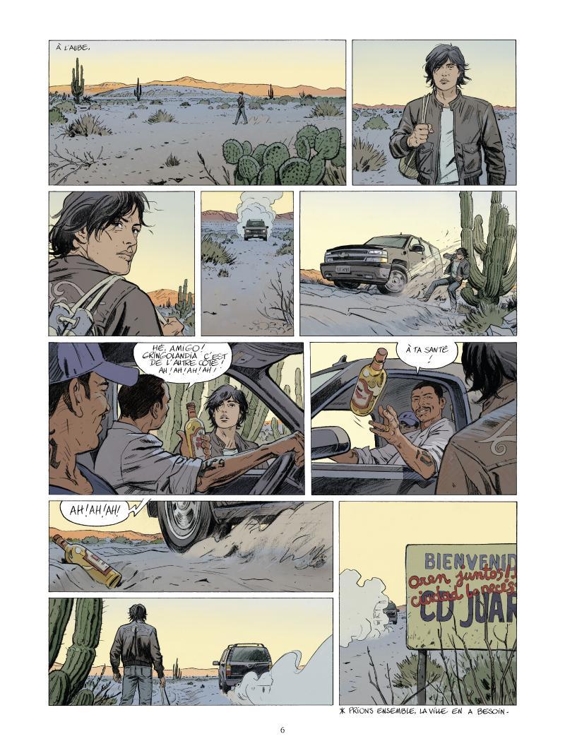 Extrait n°4 de la bd Juarez par Nathalie Sergeef