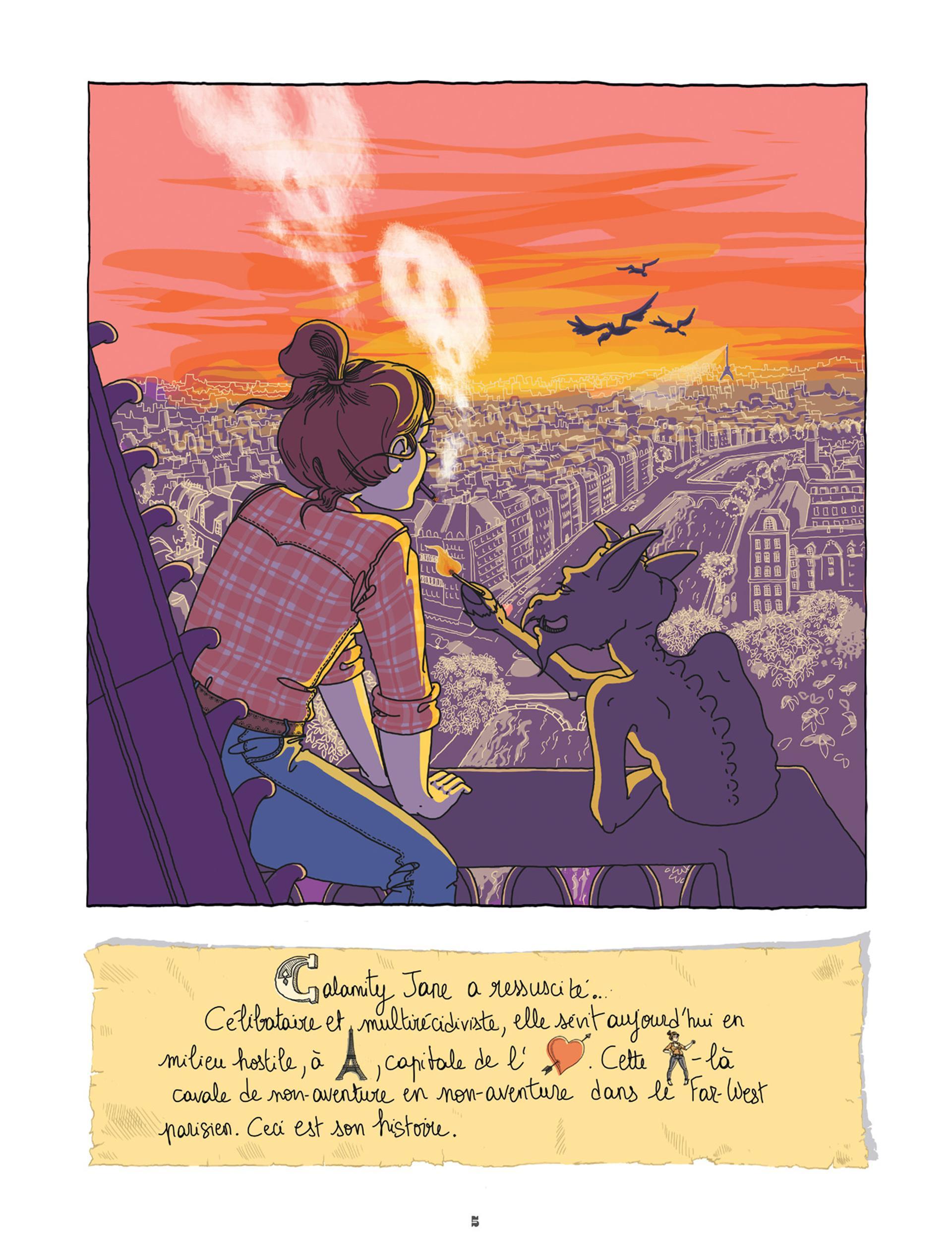 Extrait n°1 de la bd tome 1 par Jeanne  Gaullier