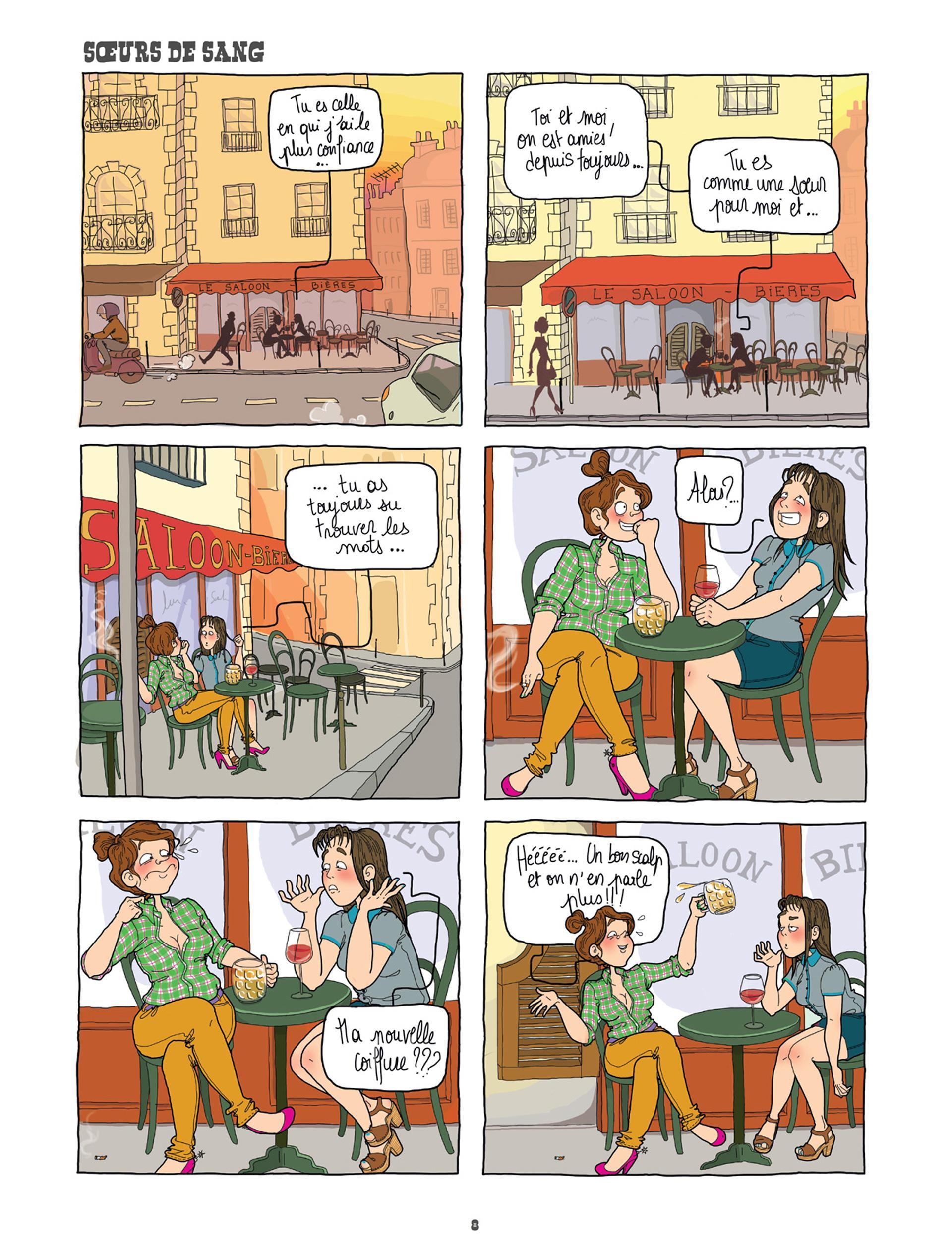 Extrait n°4 de la bd tome 1 par Jeanne  Gaullier