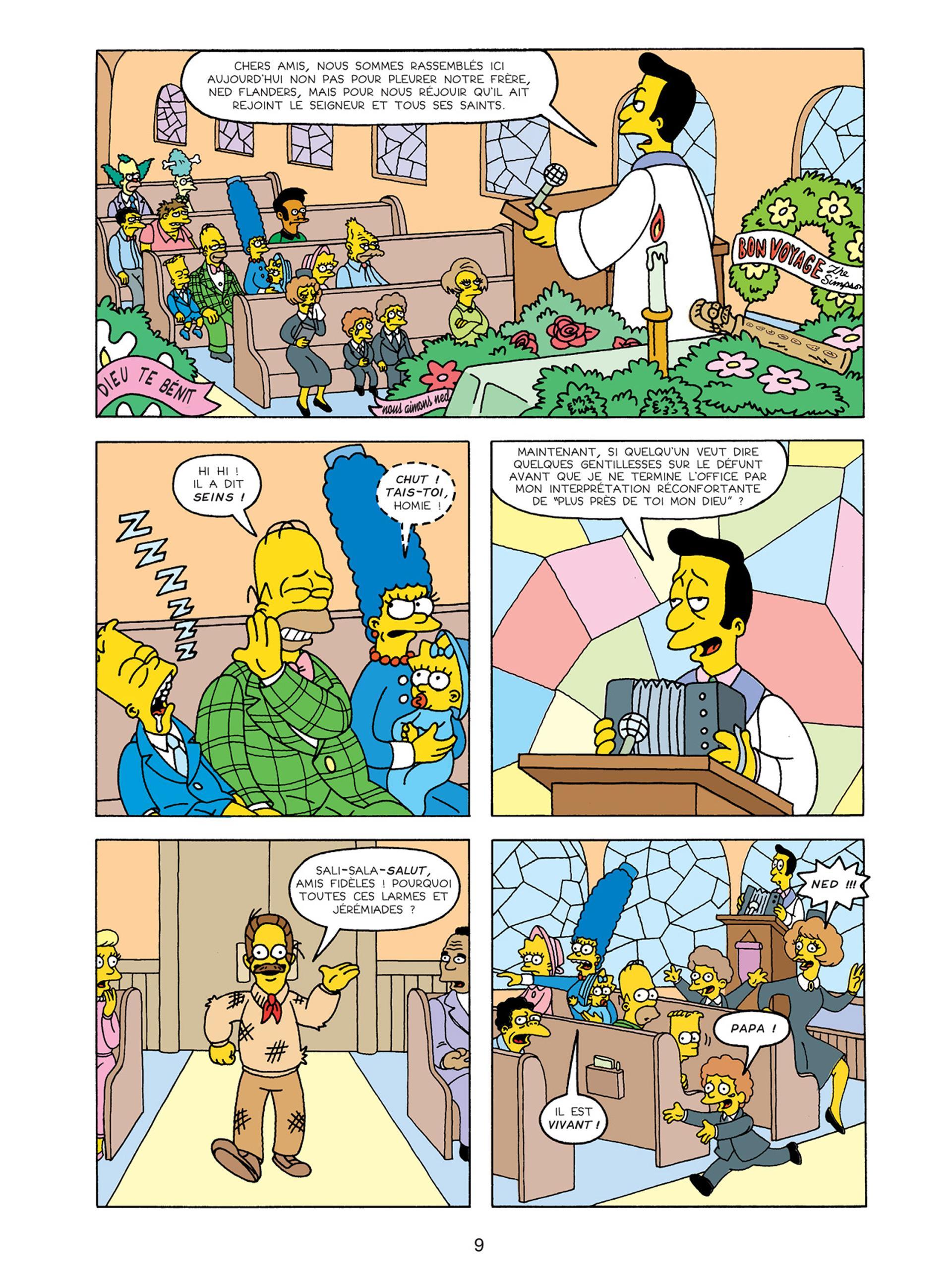Extrait n°5 de la bd tome 15 par Matt  Groening