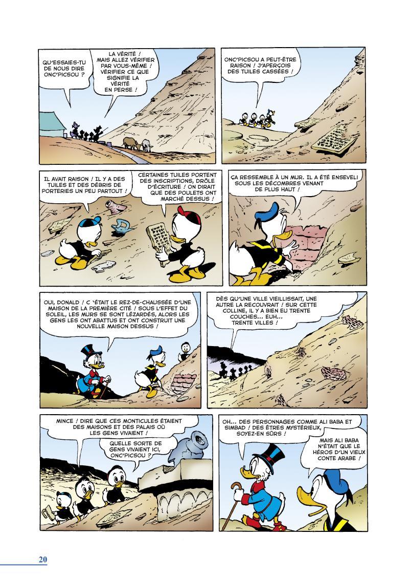 Extrait n°2 du comics tome 13 par Carl Barks