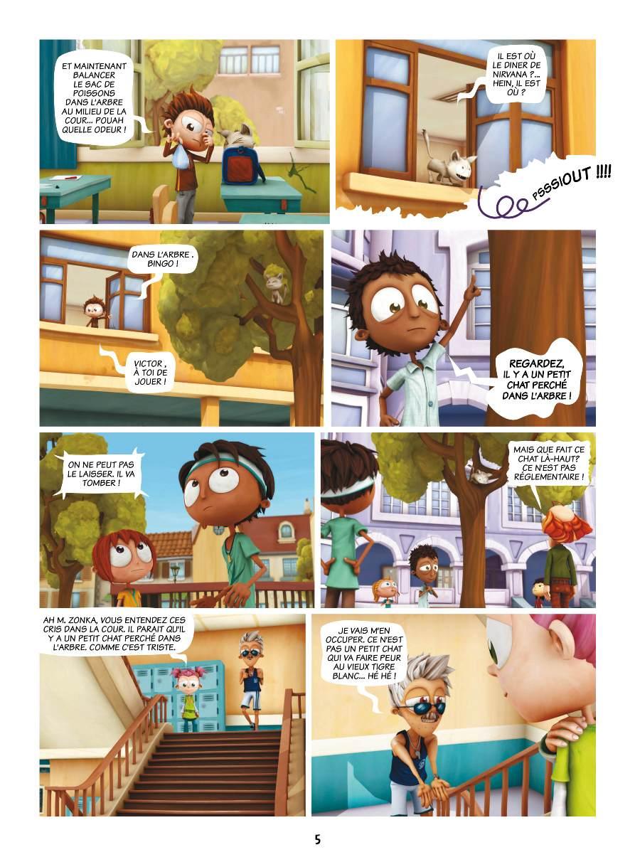 Extrait n°3 de la bd tome 1 par Studio Teamto