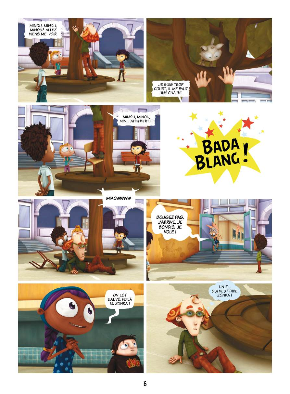 Extrait n°4 de la bd tome 1 par Studio Teamto