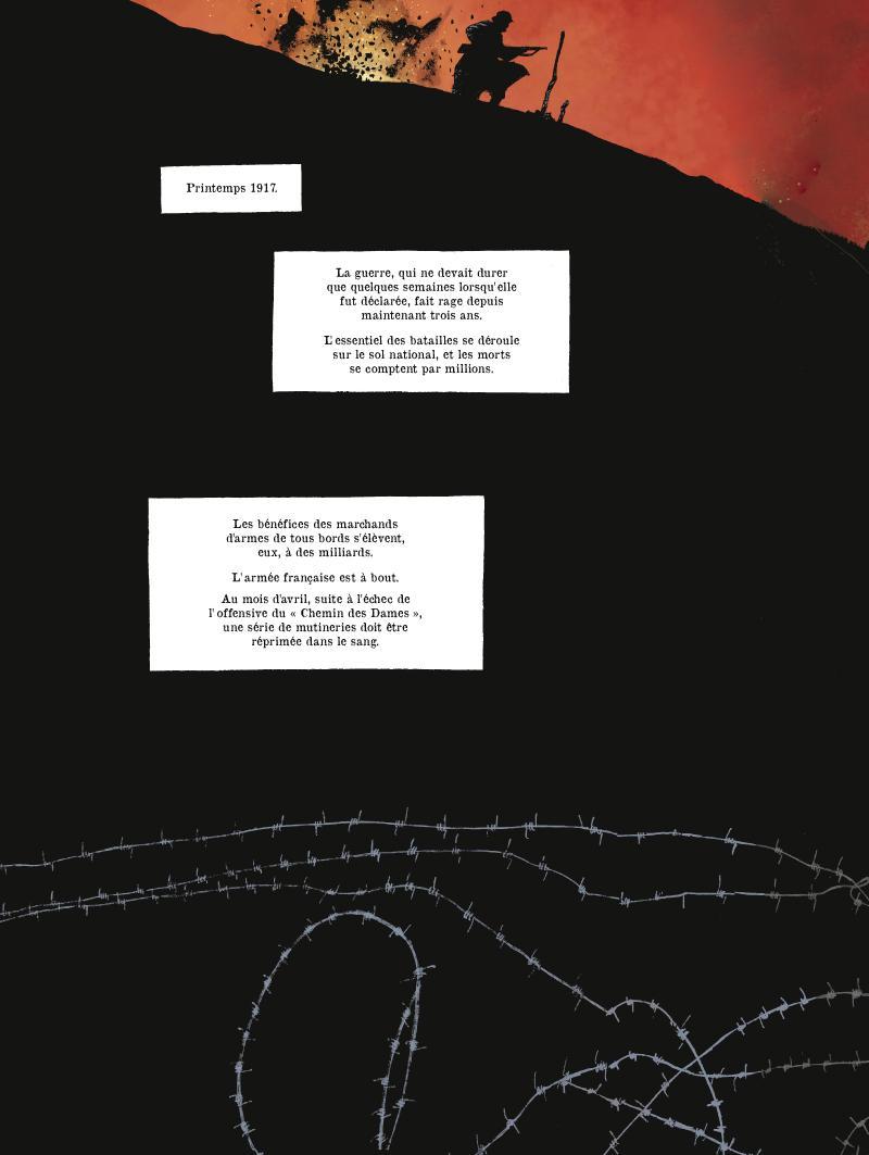 Extrait n°1 de la bd tome 1 par Fabien Nury