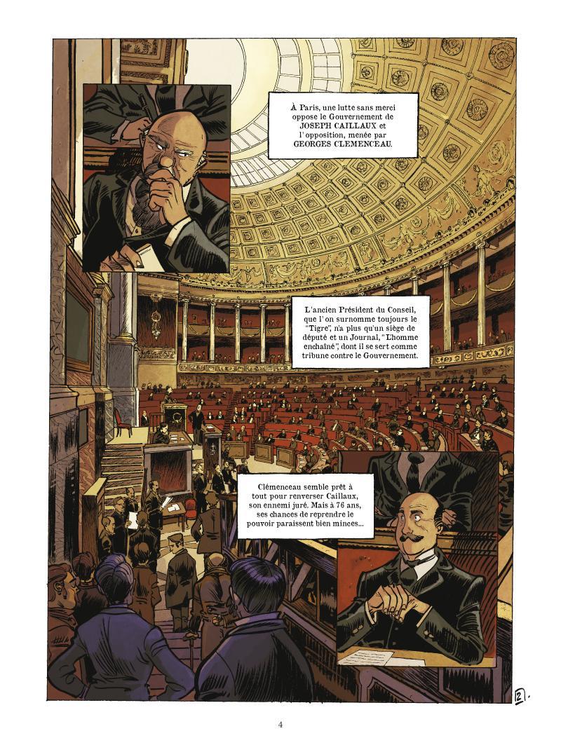 Extrait n°3 de la bd tome 1 par Fabien Nury