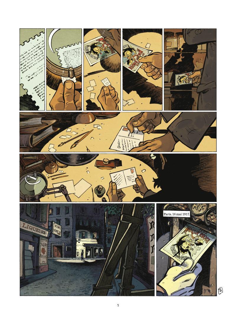 Extrait n°4 de la bd tome 1 par Fabien Nury