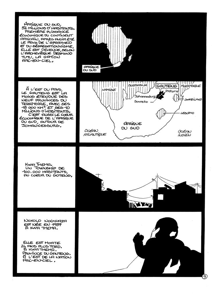 Extrait n°1 de la bd Noxolo par Jean-Christophe Morandeau