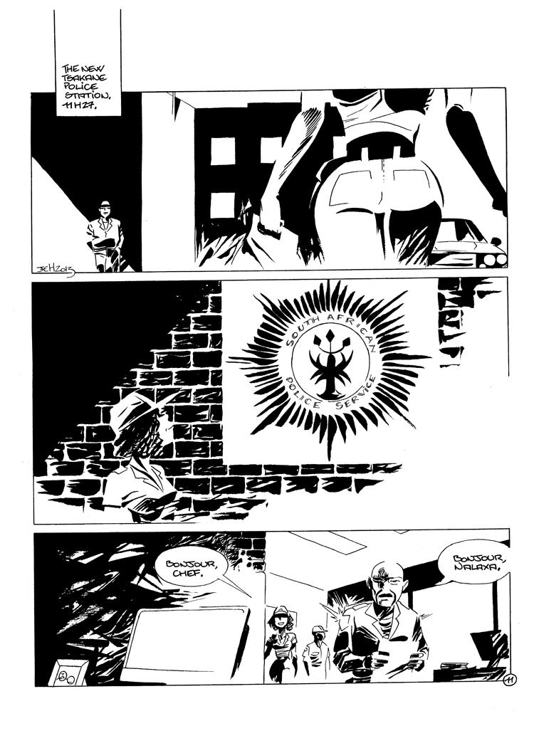 Extrait n°3 de la bd Noxolo par Jean-Christophe Morandeau