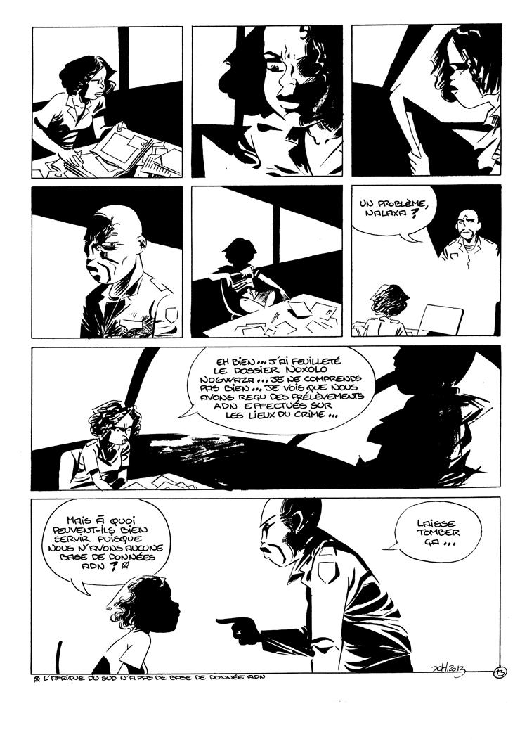 Extrait n°5 de la bd Noxolo par Jean-Christophe Morandeau