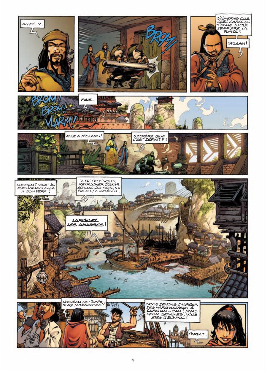Extrait n°2 de la bd tome 6 par Arleston