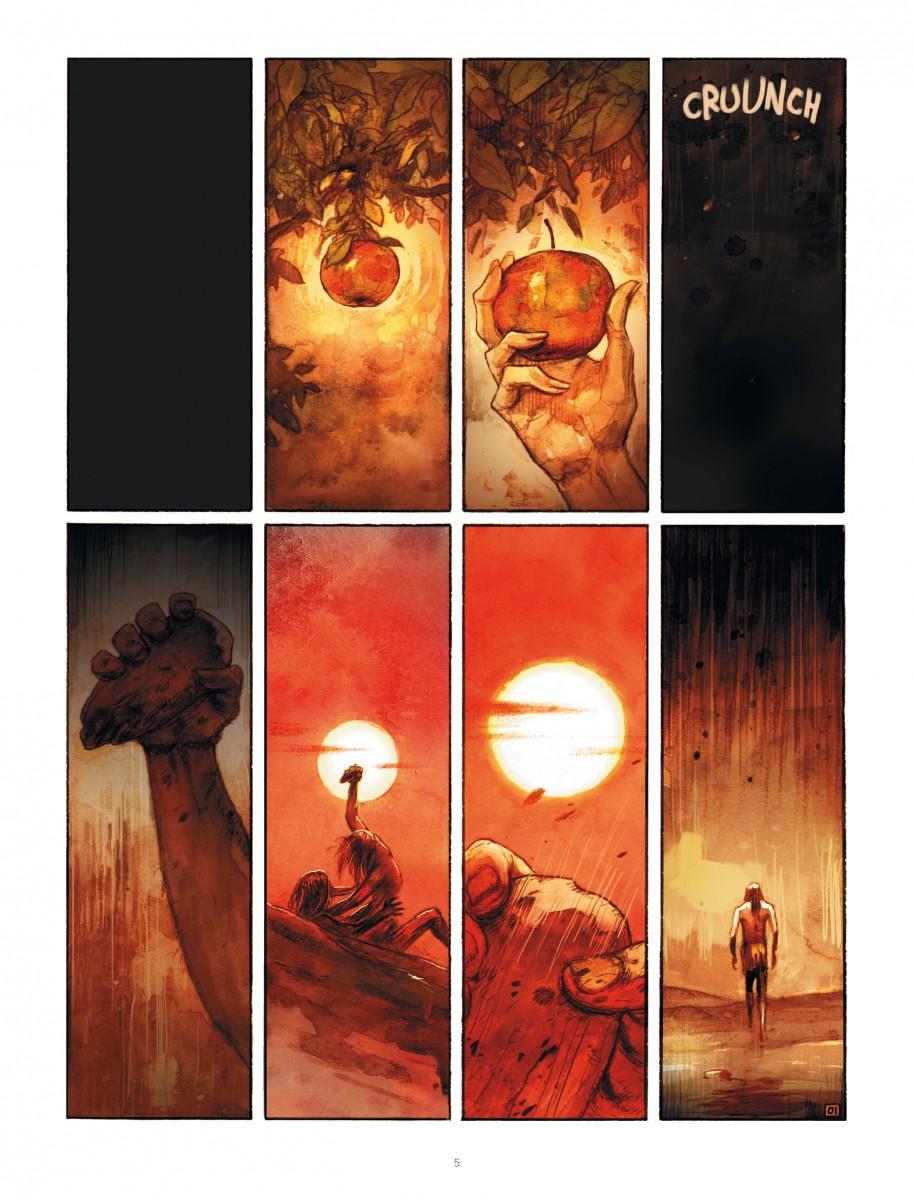 Extrait n°1 du comics par Ari Handel