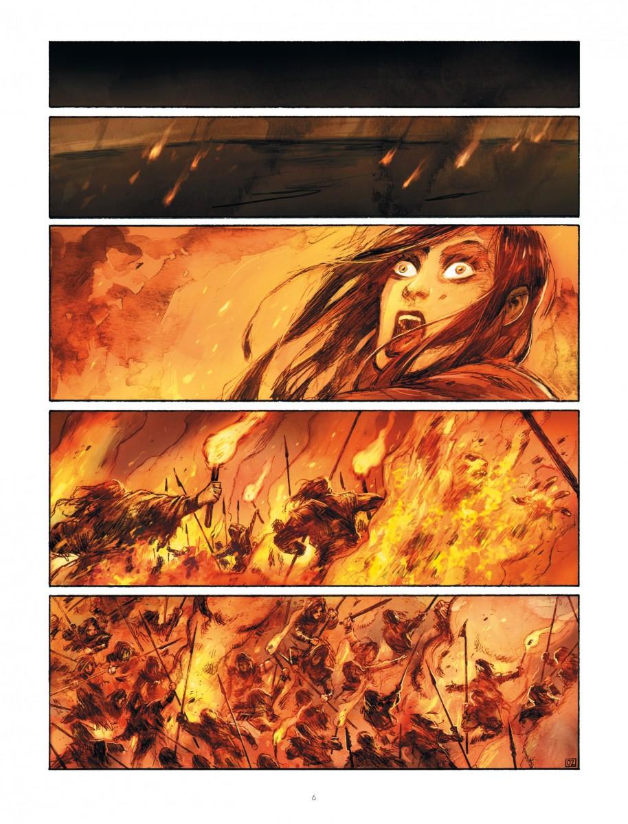 Extrait n°2 du comics par Ari Handel