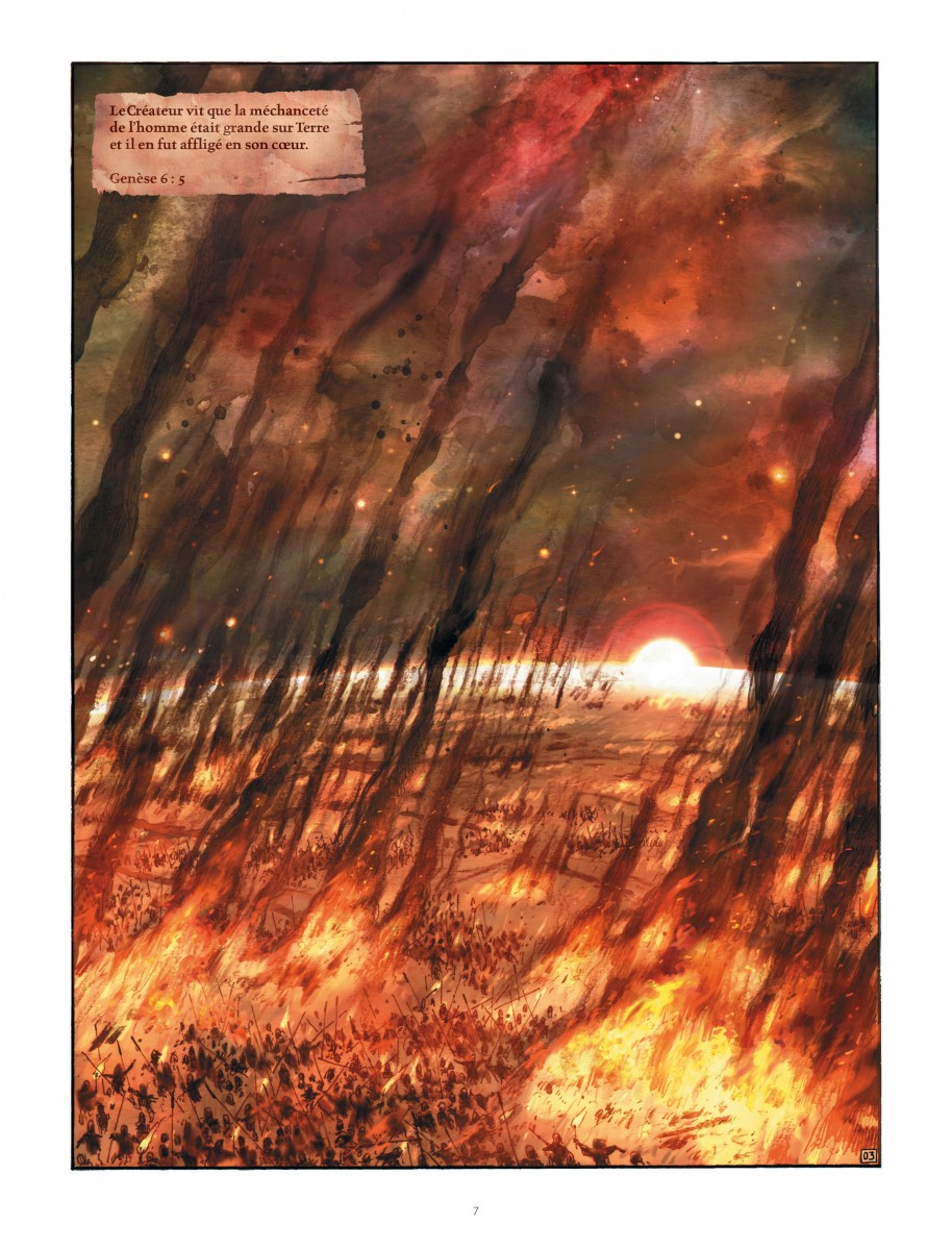 Extrait n°3 du comics par Ari Handel