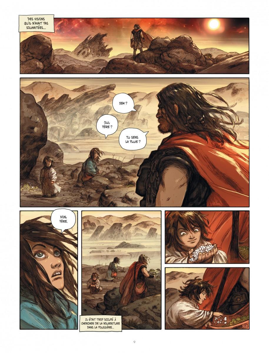 Extrait n°5 du comics par Ari Handel