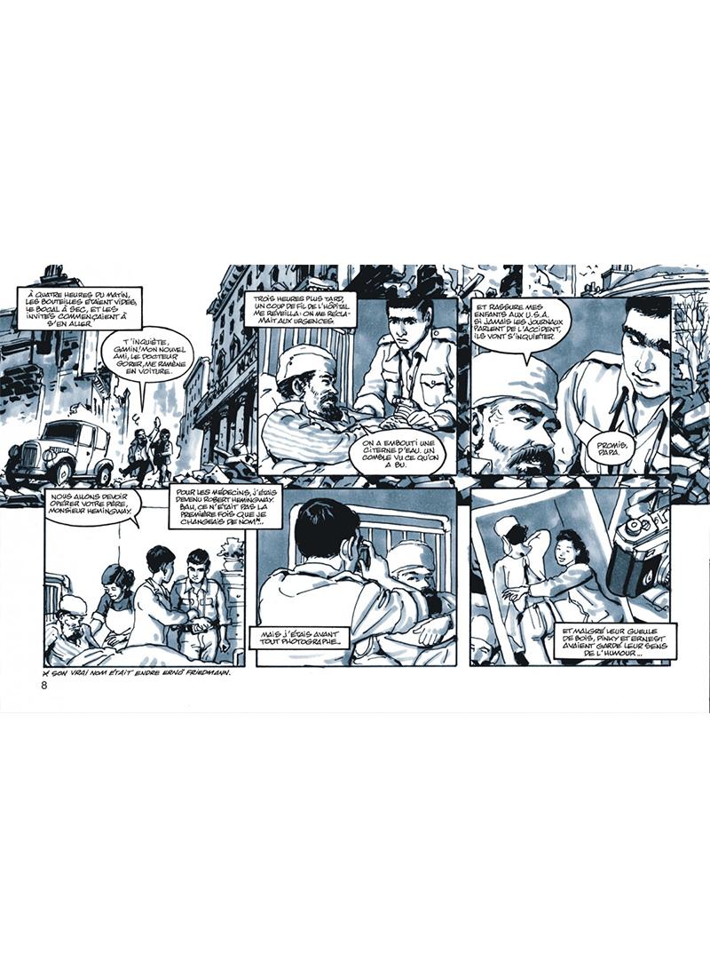 Extrait n°4 de la bd tome 1 par Jean-David Morvan