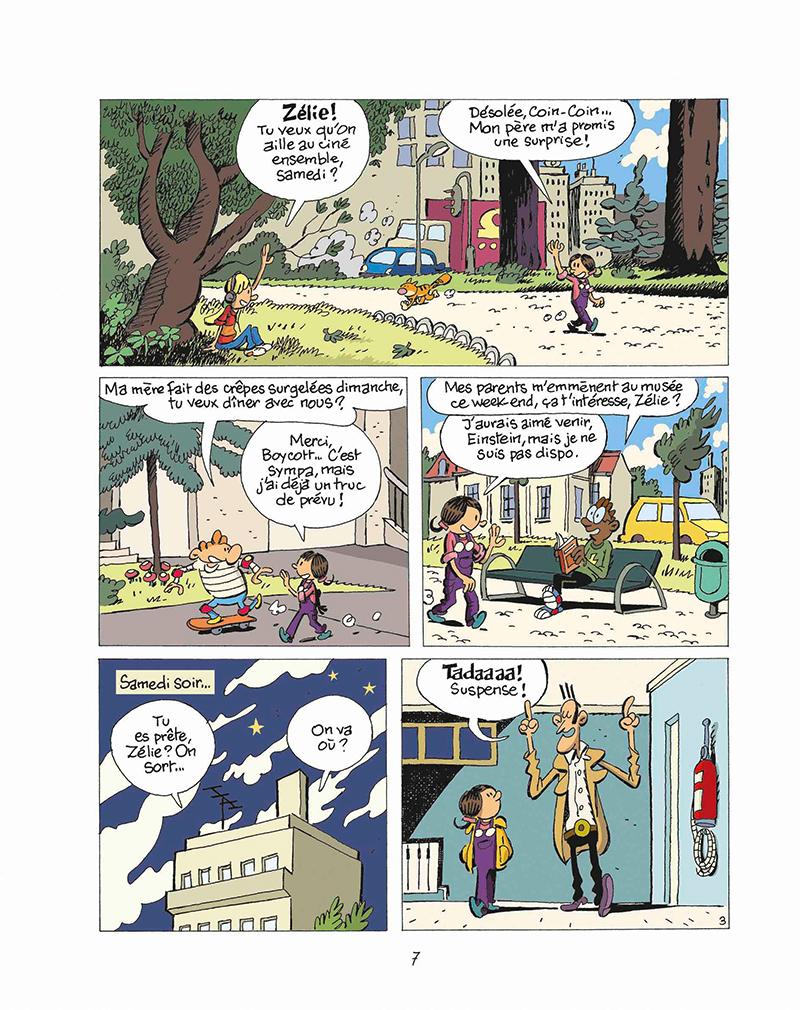 Extrait n°3 de la bd tome 11 par Éric Corbeyran