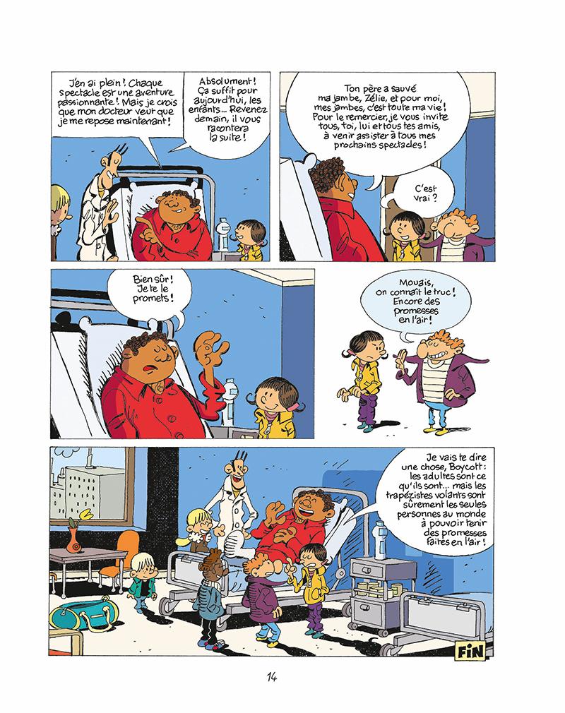 Extrait n°10 de la bd tome 11 par Éric Corbeyran