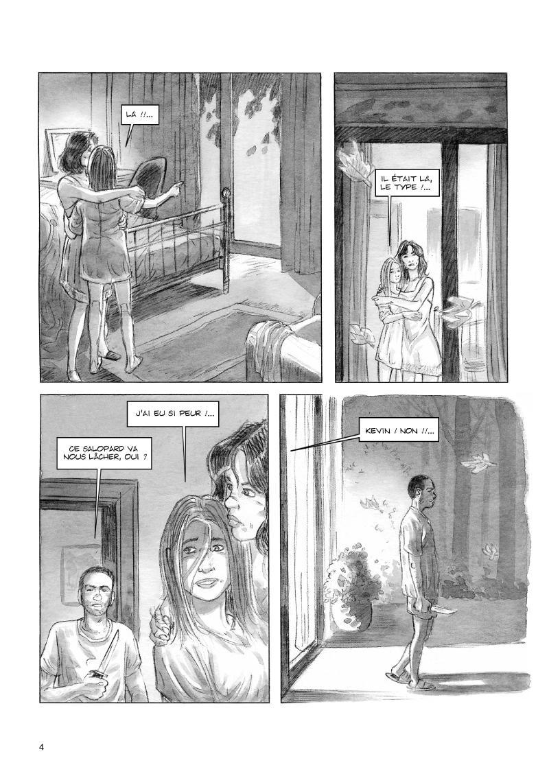 Extrait n°2 de la bd Celui qui n'existait plus par Rodolphe